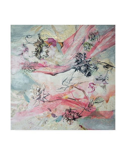 """Trademark Global Julia Hacke And the Birds are Singing Canvas Art - 15.5"""" x 21"""""""