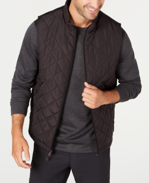 Hawke & Co. Outfitter Men's Quilted Vest In Black