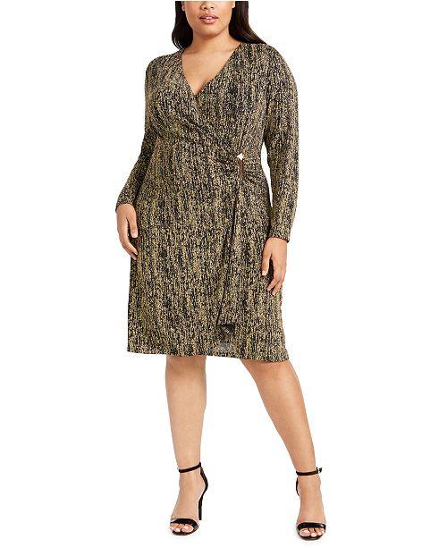 Calvin Klein Plus Size Embellished Sheath Dress