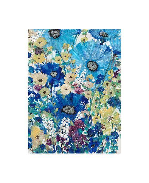 "Trademark Global Tim Otoole Garden Blues I Canvas Art - 20"" x 25"""