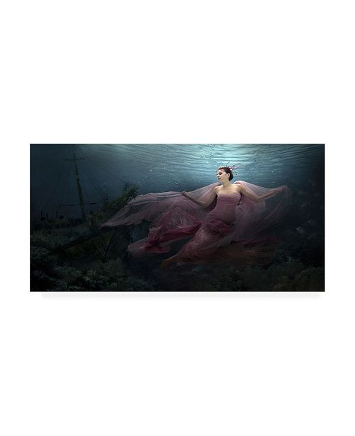 "Trademark Global Martha Suherman Legend of Nymph Canvas Art - 37"" x 49"""