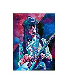 "David Lloyd Glover Keith Richards a Rolling Stone Canvas Art - 37"" x 49"""