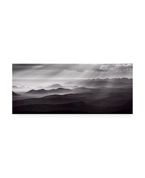 """Trademark Global Richard Guijt Namib Desert By Air Canvas Art - 20"""" x 25"""""""