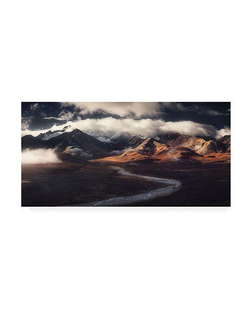 "Trademark Global Jerrywangqian Alaska Range Canvas Art - 20"" x 25"""