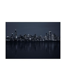 "C S Tjandra Chicago Metropolis Canvas Art - 37"" x 49"""