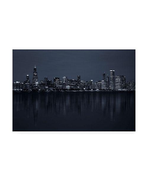 "Trademark Global C S Tjandra Chicago Metropolis Canvas Art - 37"" x 49"""