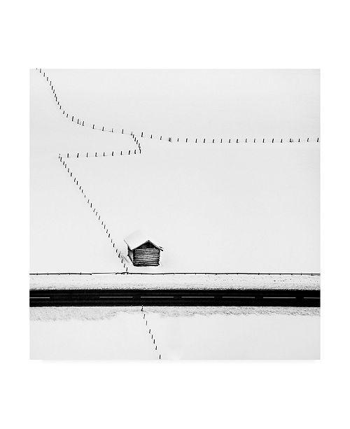 "Trademark Global Peter Svoboda Mqep Isolated Cabin Canvas Art - 15"" x 20"""
