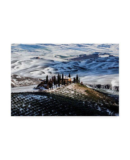 """Trademark Global Massimo Della Latta Il Belvedere Canvas Art - 37"""" x 49"""""""