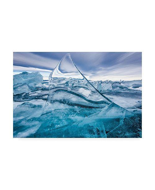 "Trademark Global Sergey Pesterev Sail Baikal Canvas Art - 15"" x 20"""