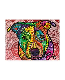"Dean Russo Begging Stencil Canvas Art - 37"" x 49"""
