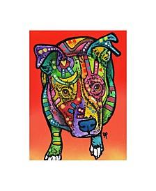 "Dean Russo Leo Stencil Canvas Art - 37"" x 49"""
