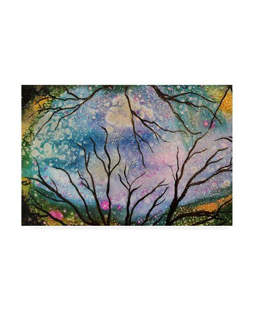 "Trademark Global Michelle Mccullough Starry Sky Canvas Art - 37"" x 49"""