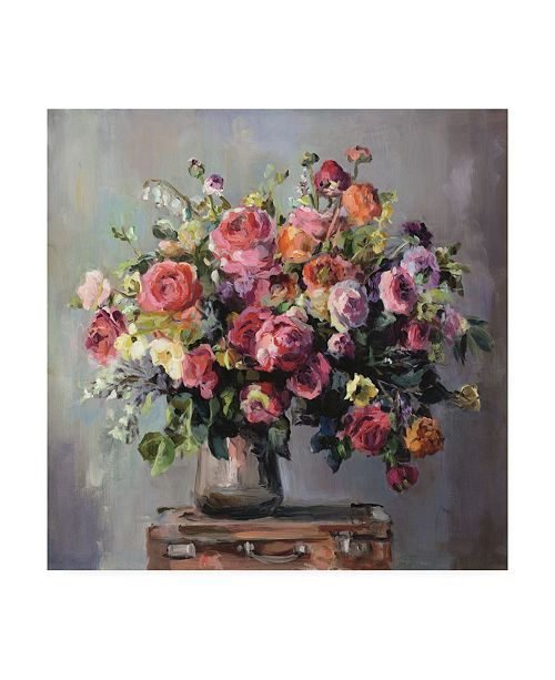 "Trademark Global Marilyn Hageman Abundant Bouquet Canvas Art - 15"" x 20"""