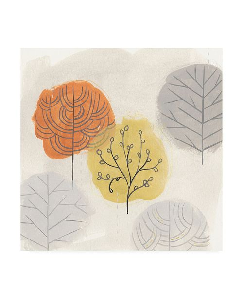 "Trademark Global June Erica Vess Forest Treasure III Canvas Art - 20"" x 25"""