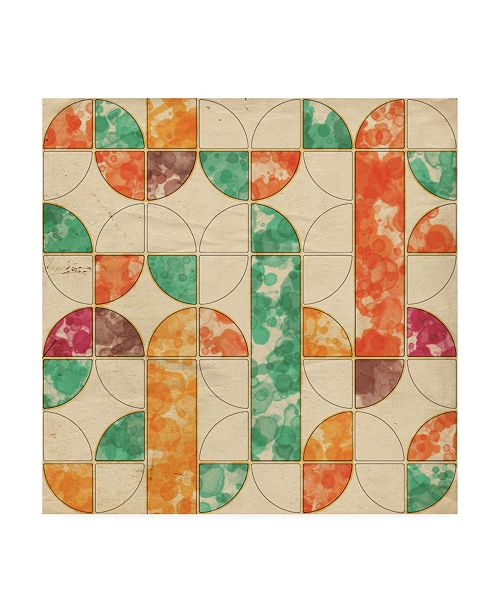 "Trademark Global Irena Orlov Geometric Color Shape III Canvas Art - 19.5"" x 26"""