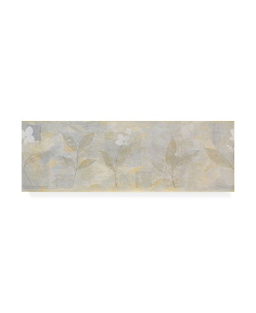 "Trademark Global Pablo Esteban White Abstract Canvas Art - 15.5"" x 21"""