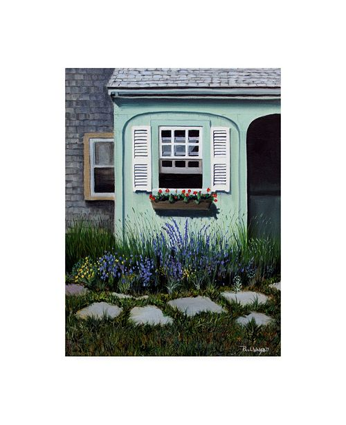 "Trademark Global Paul Walsh Cape Cod Garden Canvas Art - 19.5"" x 26"""