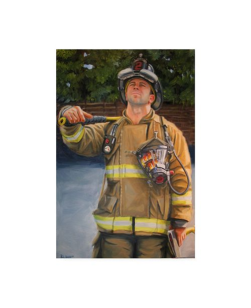 "Trademark Global Paul Walsh Eddie Job Canvas Art - 36.5"" x 48"""