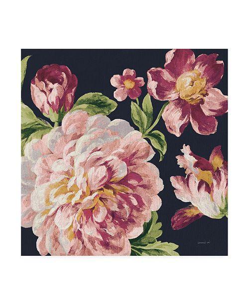 "Trademark Global Danhui Nai Mixed Floral IV Crop I Pastel Canvas Art - 15.5"" x 21"""