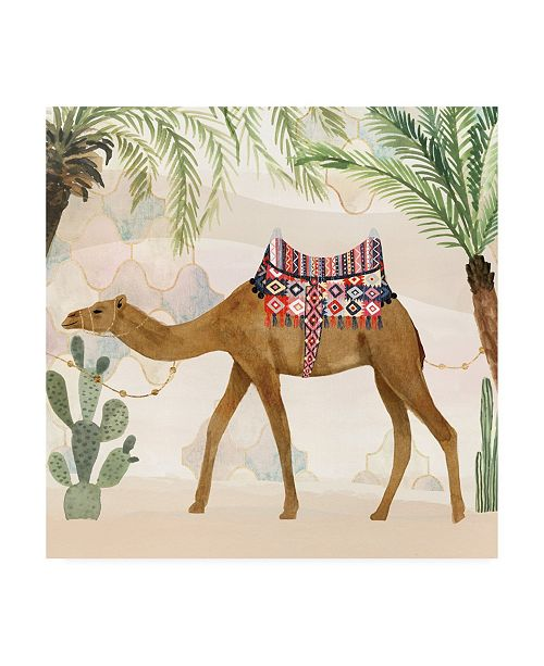 "Trademark Global Victoria Borges Meet Me in Marrakech II Canvas Art - 19.5"" x 26"""