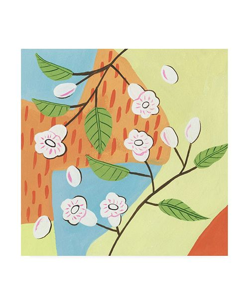 "Trademark Global Melissa Wang Early Summer Memory I Canvas Art - 19.5"" x 26"""