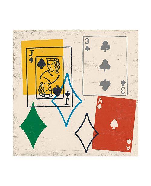 "Trademark Global June Erica Vess Game Time III Canvas Art - 15.5"" x 21"""