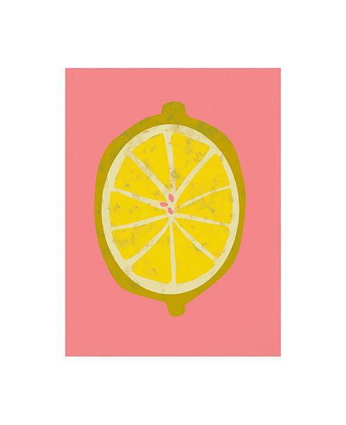 "Trademark Global Chariklia Zarris Fruit Party II Canvas Art - 15.5"" x 21"""
