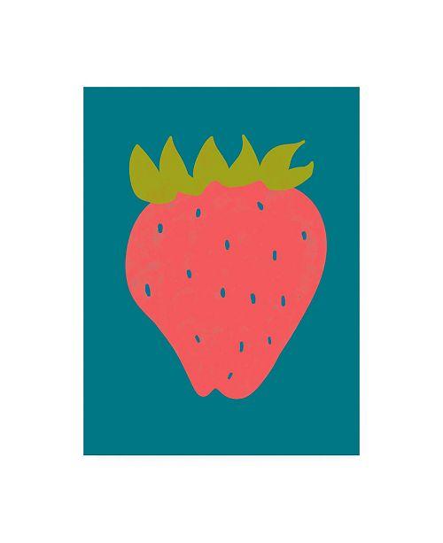 "Trademark Global Chariklia Zarris Fruit Party VII Canvas Art - 15.5"" x 21"""
