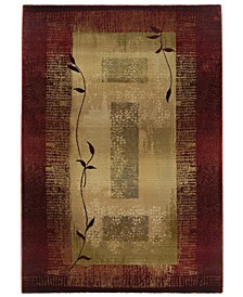 "Area Rug, Generations 544X Shadow Vine 7'10"" x 11'"