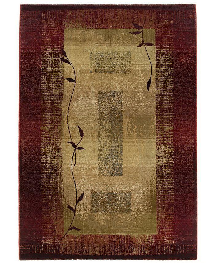 "Oriental Weavers - by  ""Generations"" Shadow Vine 544X Area Rug, 7' 10"" x 11' 2"""