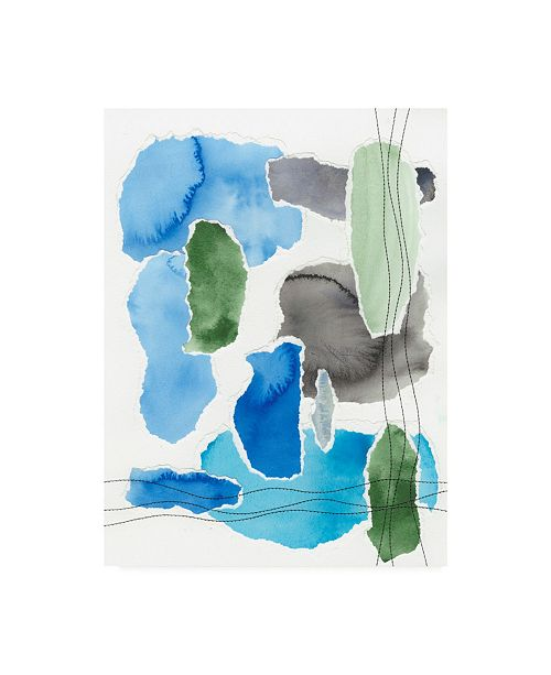 "Trademark Global Regina Moore Organic Groove I Canvas Art - 27"" x 33.5"""