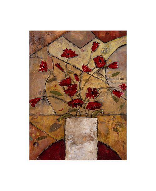 "Trademark Global Judi Bagnato Compassionate Flowers I Canvas Art - 27"" x 33.5"""