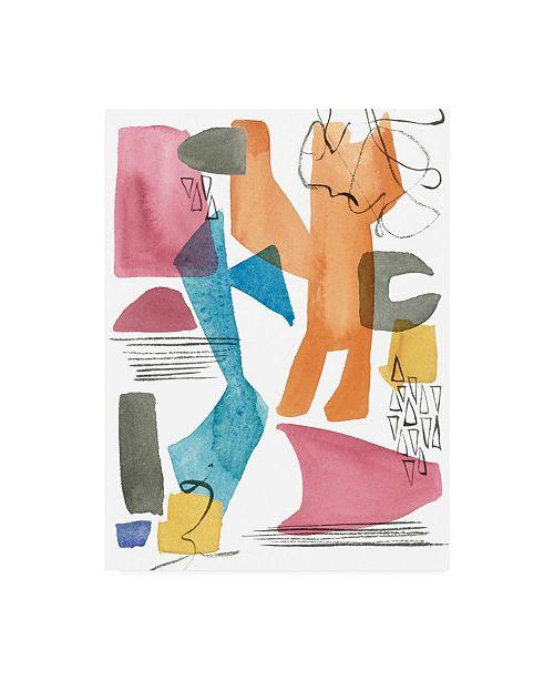 "Trademark Global Melissa Wang Colors of Sound II Canvas Art - 27"" x 33.5"""