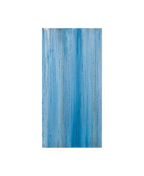 "Trademark Global Teodora Guererra Blurred Thoughts II Canvas Art - 15.5"" x 21"""