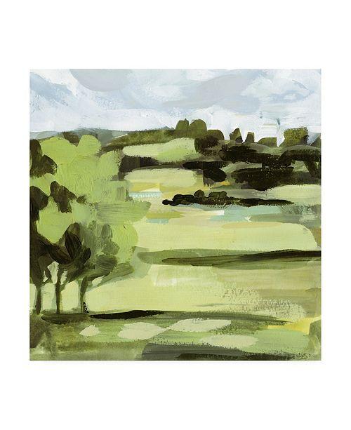 "Trademark Global Victoria Borges Landscape Canvas Art - 19.5"" x 26"""