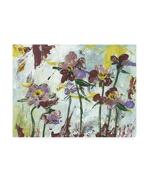 "Trademark Global Melissa Wang Floral Canvas Art - 27"" x 33.5"""