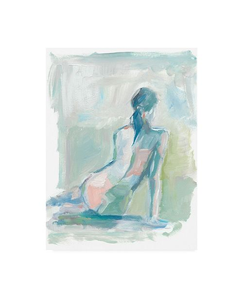 "Trademark Global Ethan Harper Modern Figure Study II Canvas Art - 27"" x 33.5"""