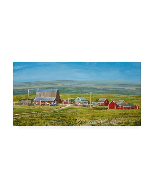 "Trademark Global Peter Snyder Cypress Hills Farm Canvas Art - 15.5"" x 21"""
