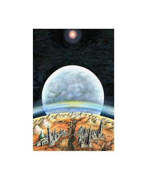 "Trademark Global Peter Potter Life on Mars Light Canvas Art - 19.5"" x 26"""