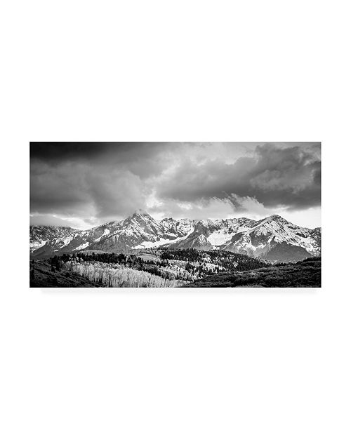 "Trademark Global Dan Ballard Snowy Peak 5 Canvas Art - 19.5"" x 26"""