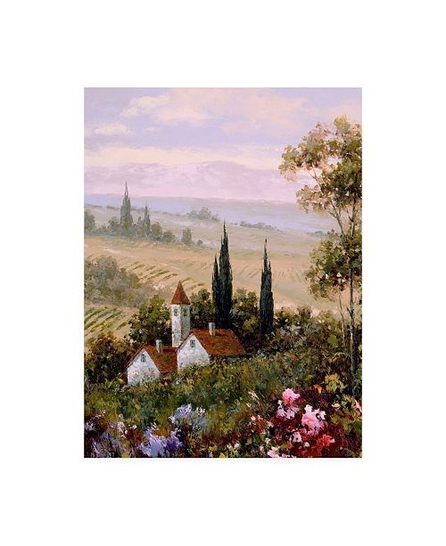 """Trademark Global Charles Gaul Country Comfort I Canvas Art - 27"""" x 33.5"""""""