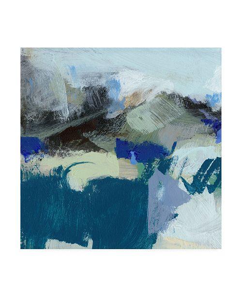 "Trademark Global Christina Long Moon I Canvas Art - 19.5"" x 26"""