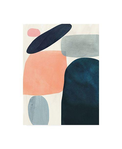 "Trademark Global Victoria Borges Gem Totem I Canvas Art - 15.5"" x 21"""
