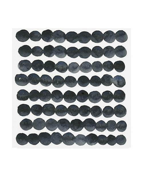 "Trademark Global Emma Scarvey Blue Grey Balance I Canvas Art - 19.5"" x 26"""