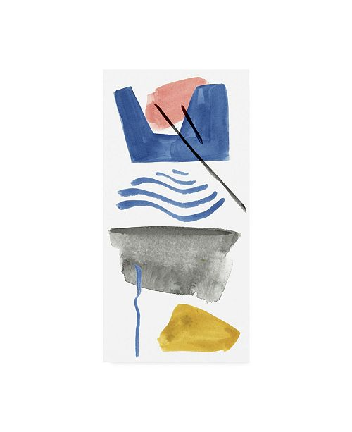 """Trademark Global Melissa Wang Above & Below IV Canvas Art - 27"""" x 33.5"""""""