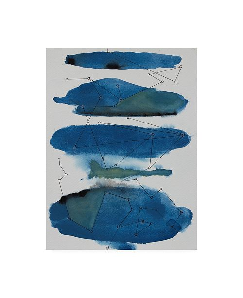 "Trademark Global Rob Delamater Storm Constellation II Canvas Art - 15.5"" x 21"""