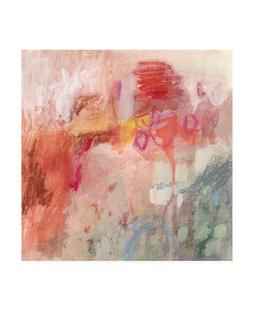 "Trademark Global Victoria Borges Incendies II Canvas Art - 19.5"" x 26"""