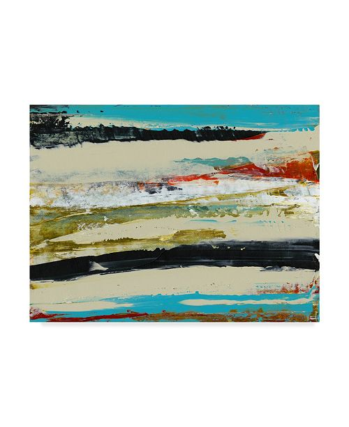 "Trademark Global Sharon Gordon Deconstructed View I Canvas Art - 37"" x 49"""