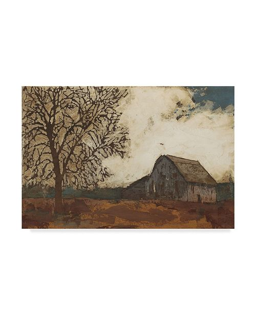 "Trademark Global Megan Meagher Erstwhile Barn II Canvas Art - 37"" x 49"""