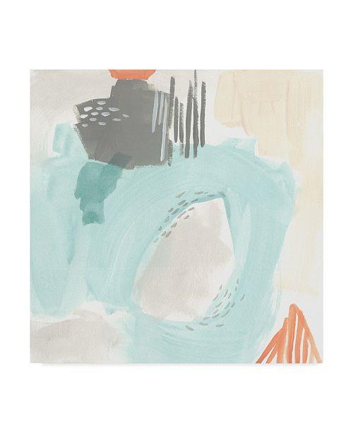 "Trademark Global June Erica Vess Chromatic Inference I Canvas Art - 27"" x 33"""